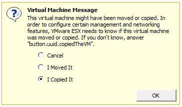 Virtual Machine Message
