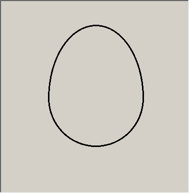 one possible egg shape