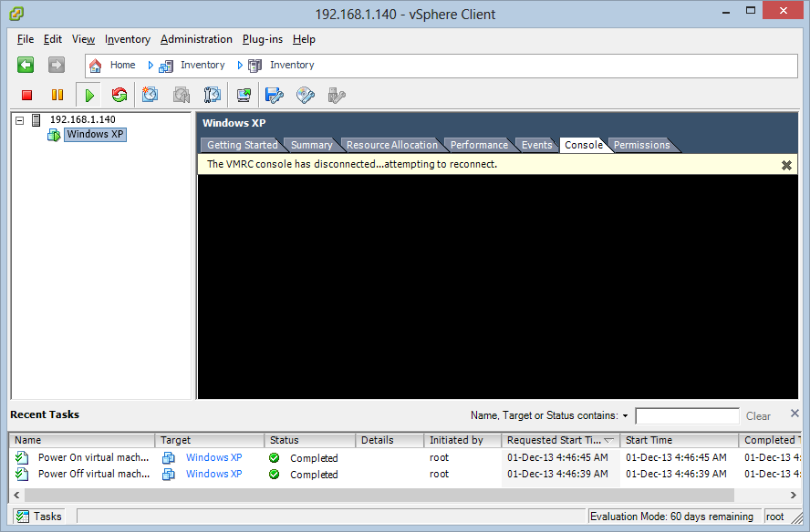 VMware ESXi 5 0 - Unable to connect via vSphere Client 5 5