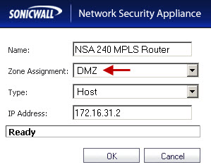 MPLS Router on the NSA 2400