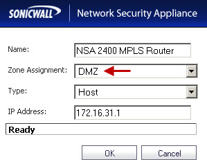 MPLS Router on the NSA 220