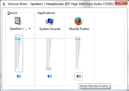 FF Mute Sound