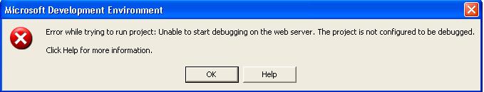 IDE error