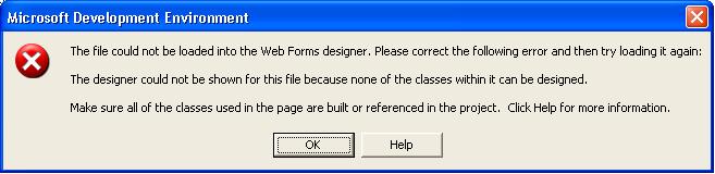 aspx error