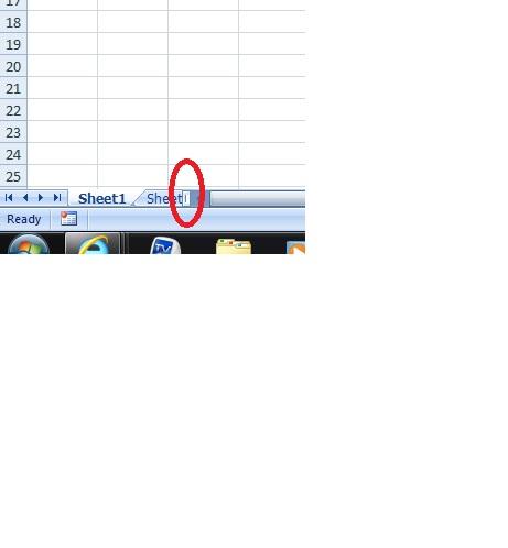 Excel Tab scroll