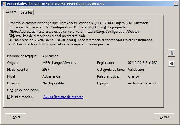 RPC service error