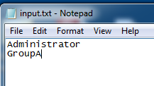 Sample Input Text File