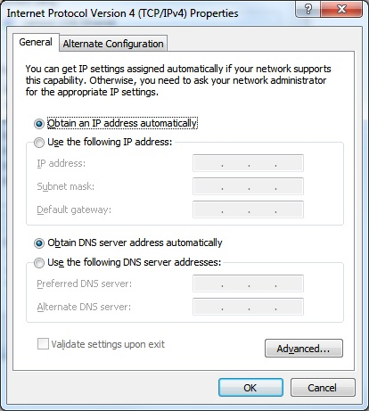 NetConfig Screen 2