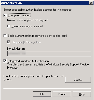 Exchange 2003 SMTP Vr Srv Permission