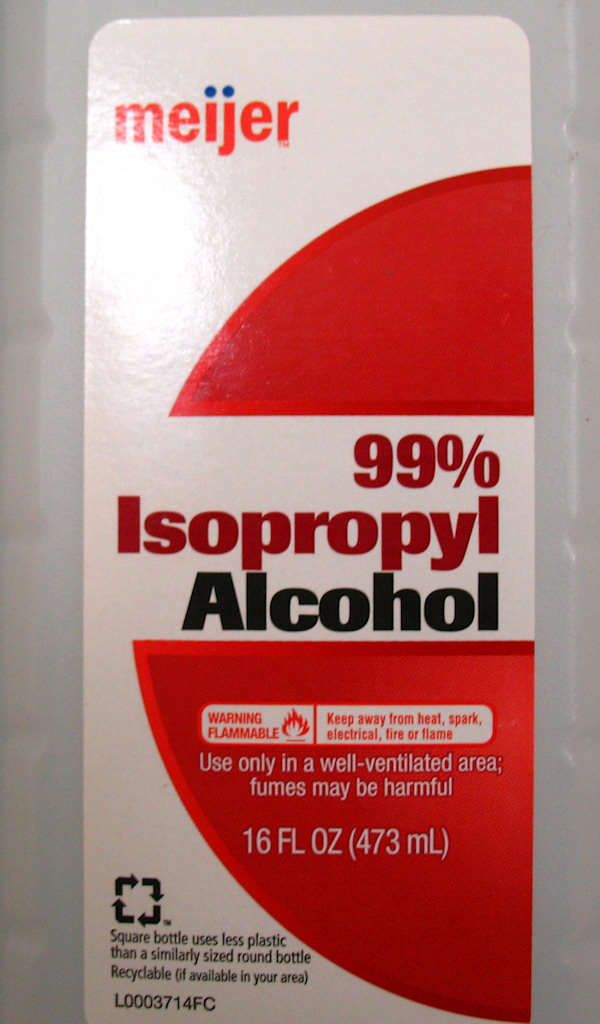 99 percent Isopropyl Alcohol