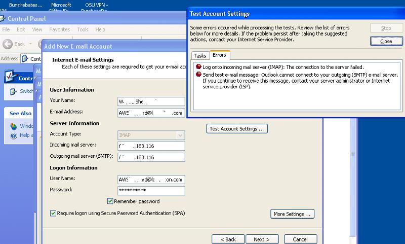 IMAP Configuration