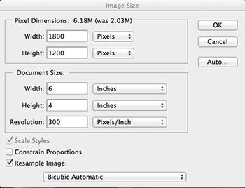 Resolution 300 pixels/inch