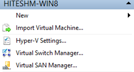 Virtual Switch Manager