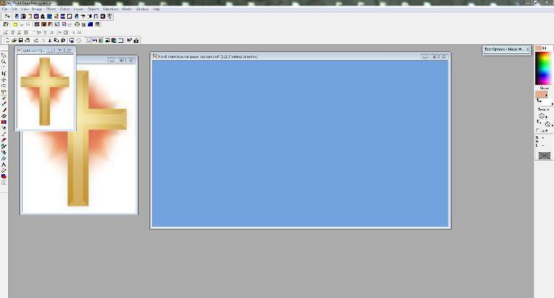 work in progress in Paintshop pro