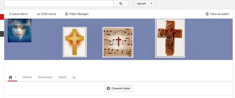 on my Youtube