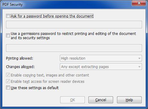 PP14 PDF Security