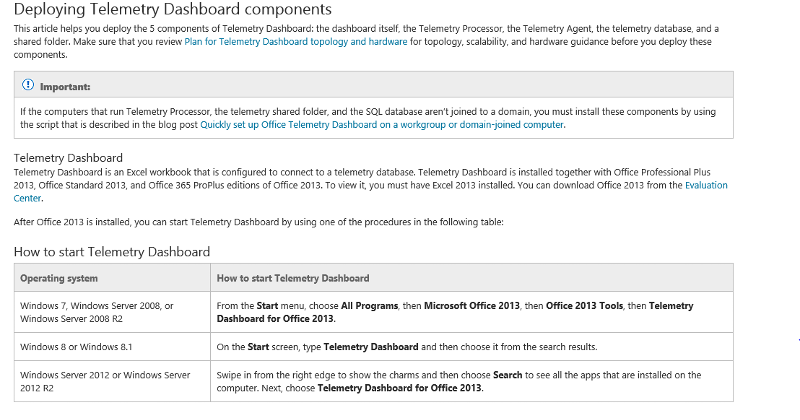 screen grab from Microsoft article on Office 2013