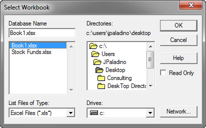 Select Workbook