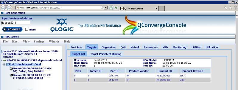 qconverge console