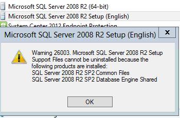 SQL Warning