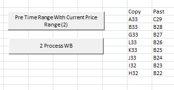 Copy values fro mention Cells