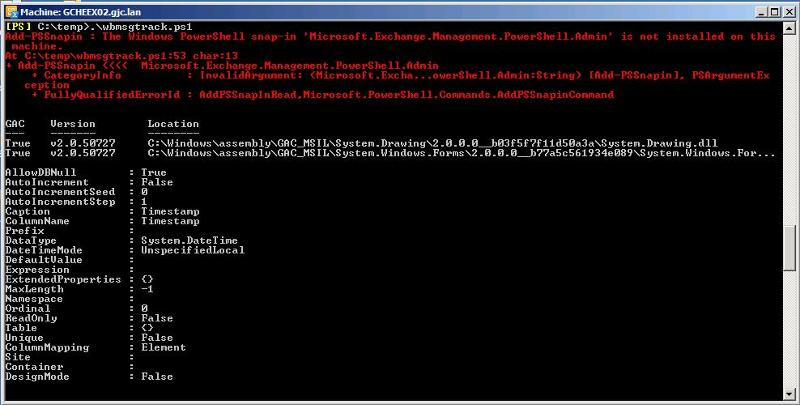 PowerShell Exch 2010