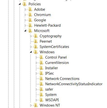 Registry Path