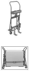 hydraulic jacks and straps