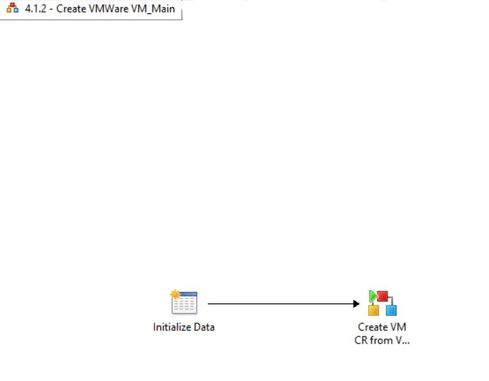 Create VMWare VM Main Runbook