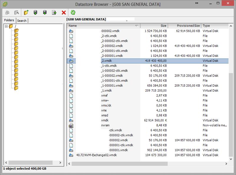 vSphere Datastore Browser