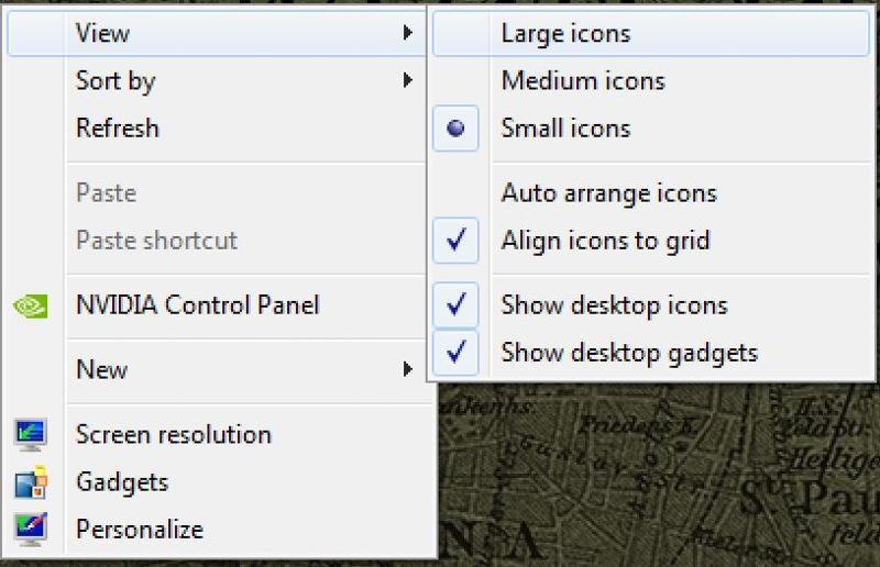 view large icons desktop