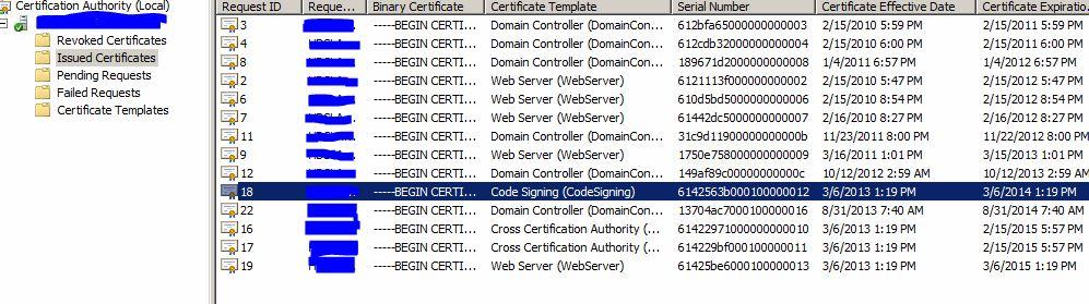 SOLUTION] SBS 2008 - Code Signing Certificate Expiring