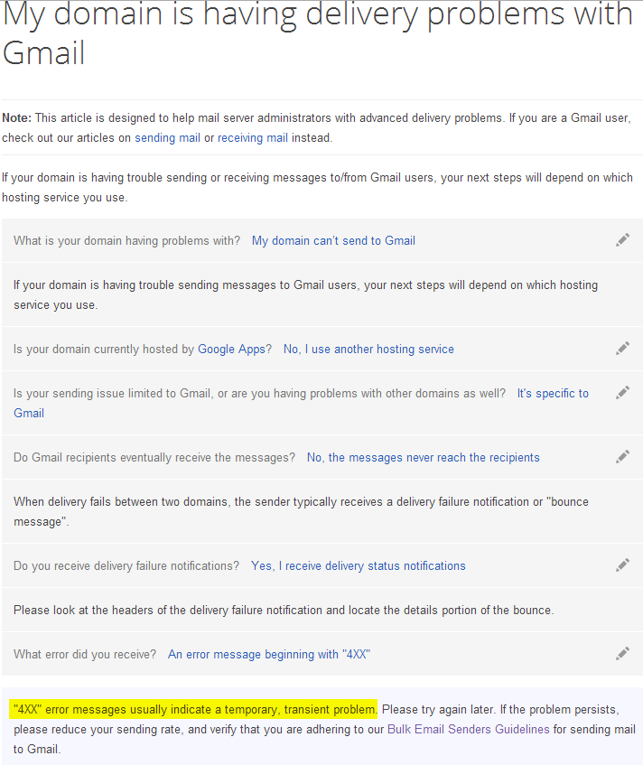 Gmail Troubleshooter