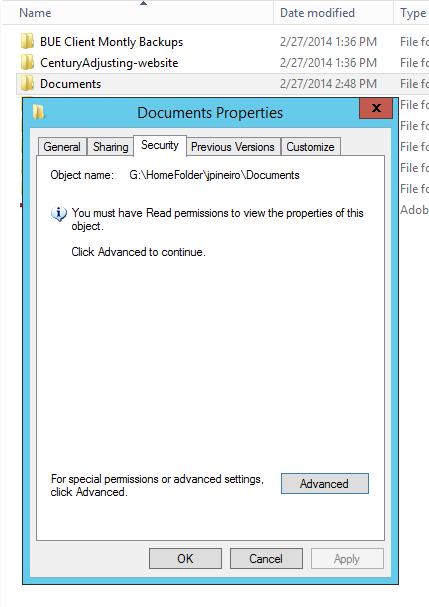 Doc folder permission