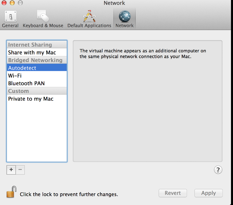 configure Linux DHCP in Vmware fusion LAB