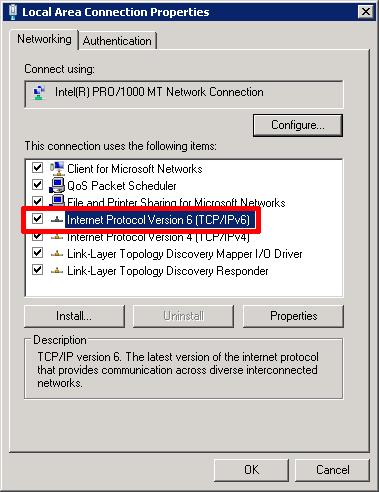IPV6 Enable
