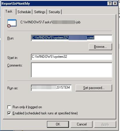 Q_28387268 task scheduler