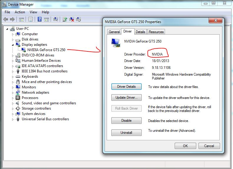 drivers device manager