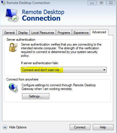 RDP- Certificate