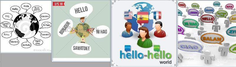 hello around the world