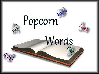 Pop Corn with words