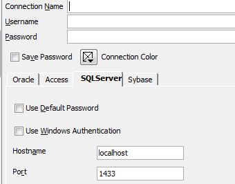 Oracle SQL Developer 4 0 1 14 settings for jdbc access to MS SQL server