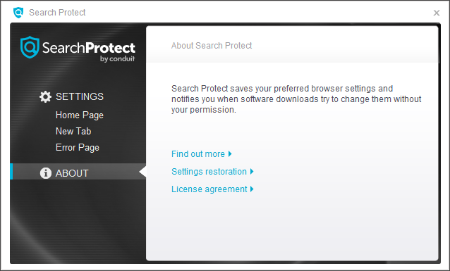 SearchProtect by Conduit