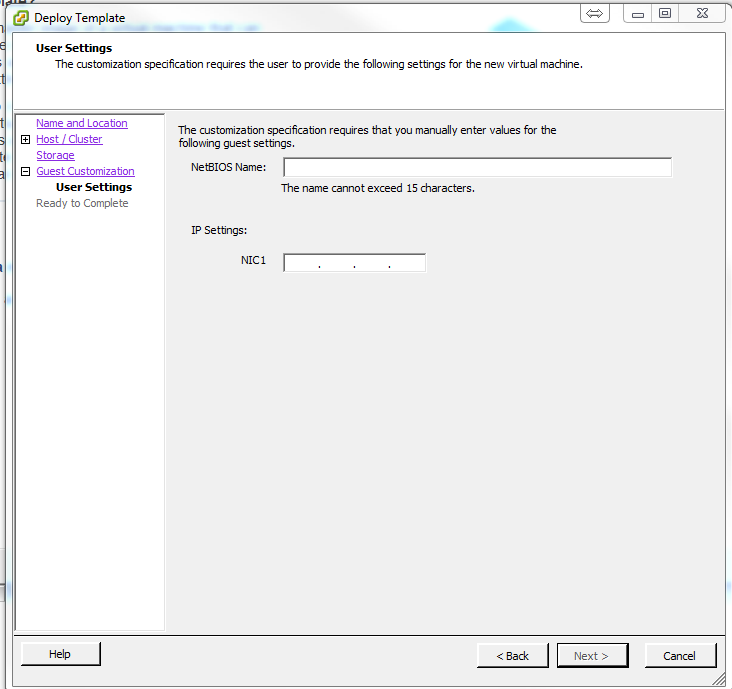 Deploy Multiple VM's with PowerCLI