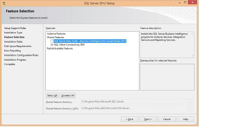 SQL Server Data Tools - Business Intelligence for Visual Studio 2012