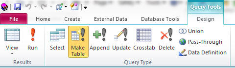 Query Tools group