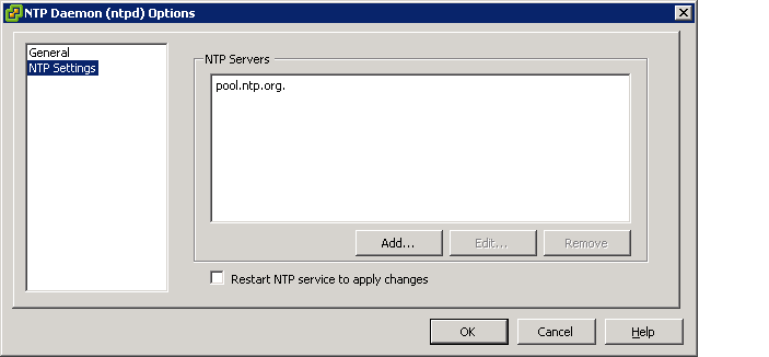 NTP added