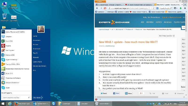 8.1 desktop