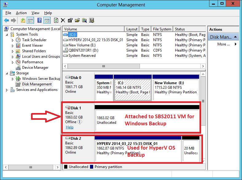 HyperV - Computer Management