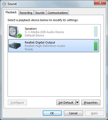 speakers test